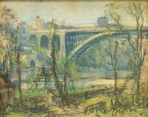 "Arthur Clifton Goodwin, ""George Washington Bridge"""