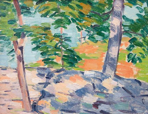 Andrew Michael Dasburg (American, 1887-1979) Untitled, 1911