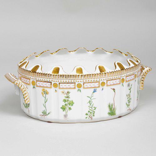 Royal Copenhagen Porcelain 'Flora Danica' Monteith