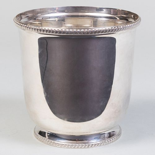 Tiffany & Co. Silver Ice Bucket Inscribed from Barbara and Frank Sinatra