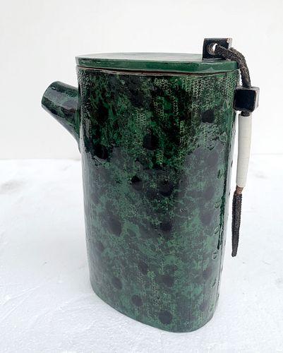 Textured Ceramic Vessel by Stella Vognar
