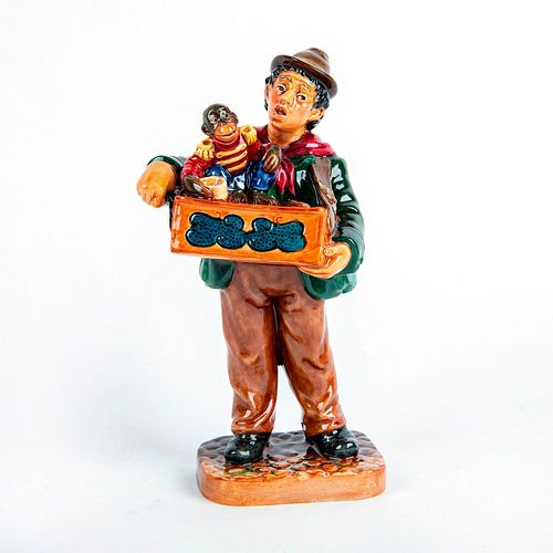 Royal Doulton Prototype Figurine, Organ Grinder