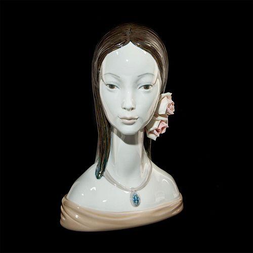 Maja Head 01004668 - Lladro Porcelain Figure