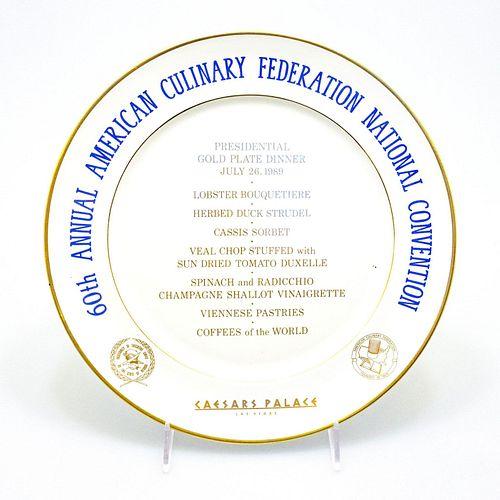 Royal Doulton ACF Dinner Plate