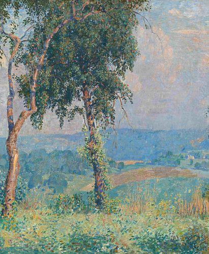 Daniel Garber(American, 1880-1958)Near Solebury, 1917 (repainted 1918)