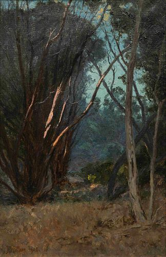 John Mather (Scottish, 1848-1916) Late Afternoon, 1906