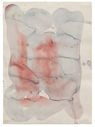 Sam Francis (American, 1923-1994) Untitled (SF60-020), 1960
