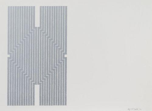 Frank Stella (American, b. 1936) Aluminum Series (complete portfolio of 9), 1970