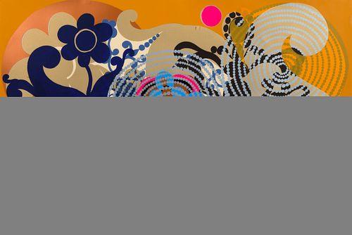 Beatriz Milhazes (Brazilian, b. 1960) Uva Selvagem (Wild Grape), 1996-1998