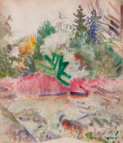 John Marin (American, 1870-1953) Autumn in Mist, 1918