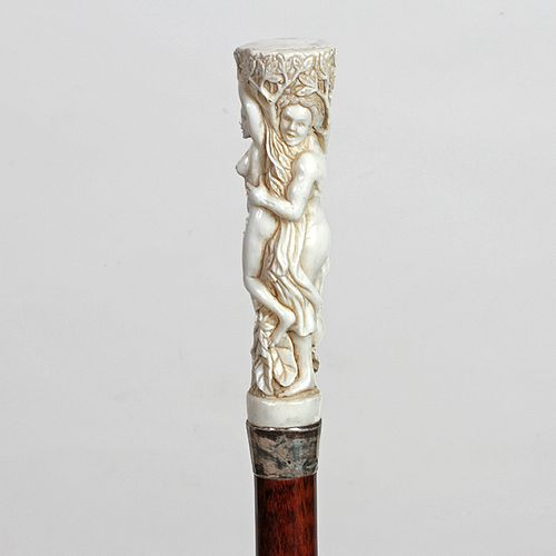 Stag Semi-Erotic Biblical Cane