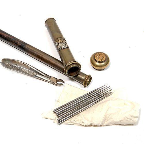Regimental Dentist's System Cane
