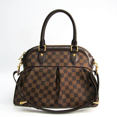Louis Vuitton Damier Trevi PM N51997 Women's Shoulder Bag Ebene BF337575