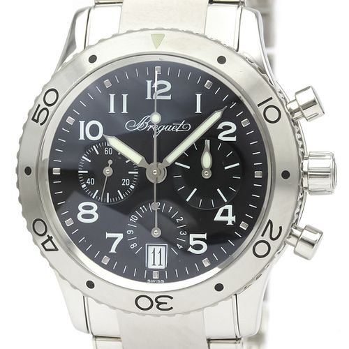 Breguet Transatlantique Automatic Stainless Steel Men's Sports Watch 3820 BF526548