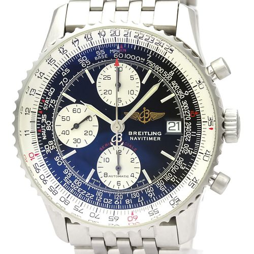 BREITLING Navitimer Fighters Steel Automatic Mens Watch A13330 BF527531
