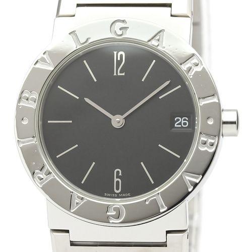 Bvlgari Bvlgari Bvlgari Quartz Stainless Steel Unisex Dress Watch BB30SS BF527461