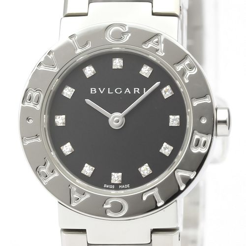 BVLGARI BVLGARI-BVLGARI Steel Quartz Ladies Watch BB23SS BF527463