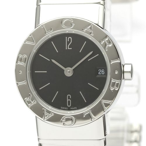 Bvlgari Tubogas Quartz Stainless Steel Women's Dress Watch BB23 2TS BF527518