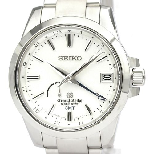 GRAND SEIKO Spring Drive GMT Steel Watch SBGE009(9R66-0AE0) BF526565