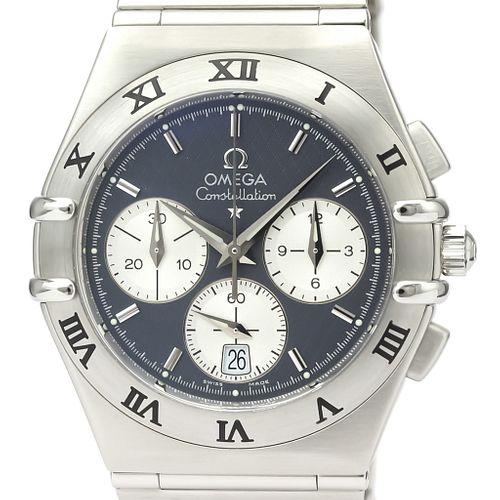 OMEGA Constellation Chronograph Steel Quartz Mens Watch 1542.40 BF527888