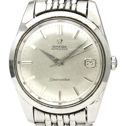 Omega Seamaster Automatic Stainless Steel Men's Dress Watch 166.010 BF521937