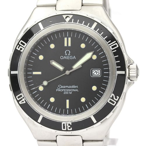 Omega Seamaster Quartz Stainless Steel Men's Sports Watch 396.1062 BF521608