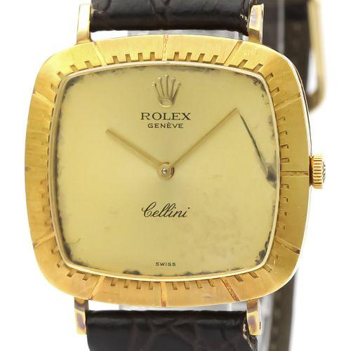 Rolex Cellini Mechanical Yellow Gold (18K) Men's Dress Watch 4084 BF527914