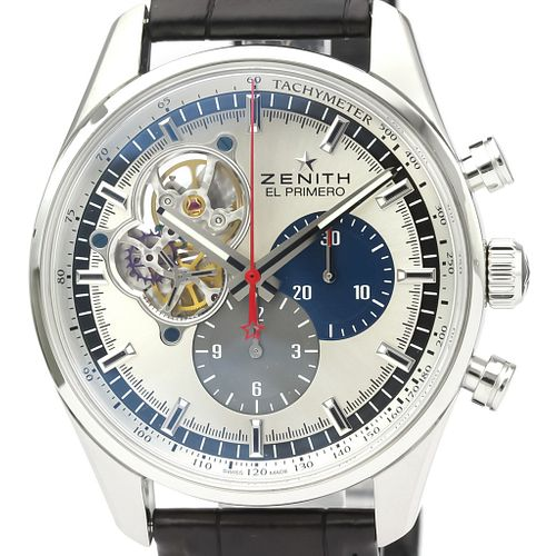Zenith Chronomaster Automatic Stainless Steel Men's Sports Watch 03.2040.4061 BF526527