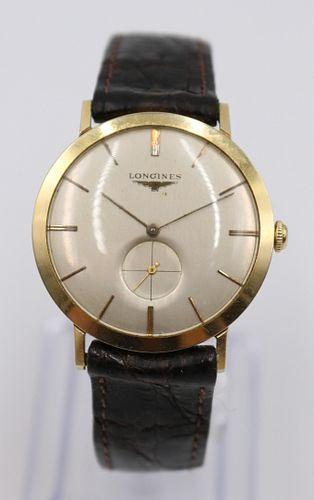 Vintage Longines 14K Men's Dress Watch