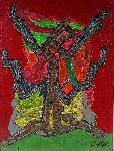 Alexander Raymond Katz, Mixed Media, Prayer Tree