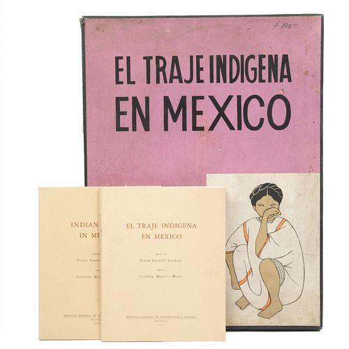 Mapelli Mozzi, Carlota - Castello Yturbide, Teresa. El Traje Indígena en México. México: Instituto Nacional de Antropología e Historia.