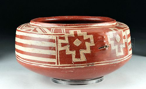 Fabulous / Large Chupicuaro Pottery Head Vessel