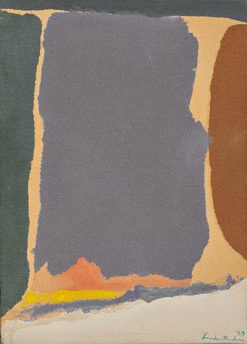 HELEN FRANKENTHALER, American 1928-2011, Untitled, 1969