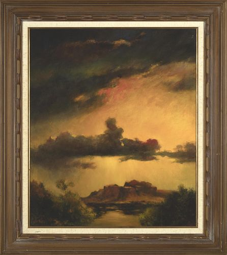 Jennie Tomao, Sunset in Old Mexico