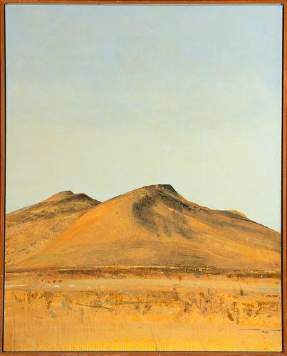 Forrest Moses, Santa Fe #563, 1972