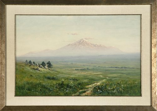 Harvey Young, Mount Hood (Pike's Peak from Cheyenne Valley), 1898