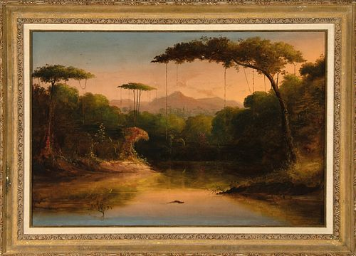 Norton Bush, Untitled (Swamp), 1870