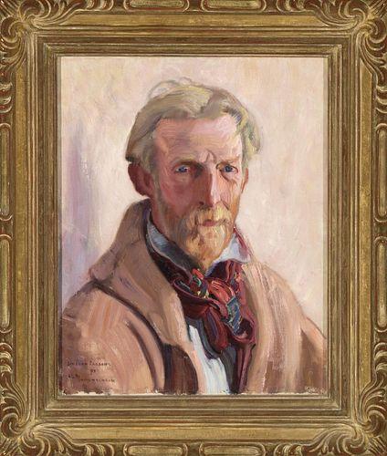 Ernest L. Blumenschein, Portrait of Sheldon Parsons