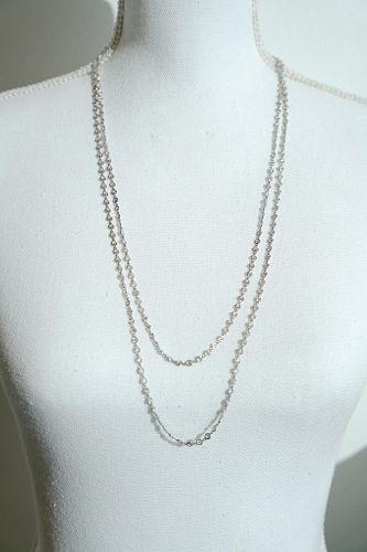Platinum Diamond by the Yard Chain