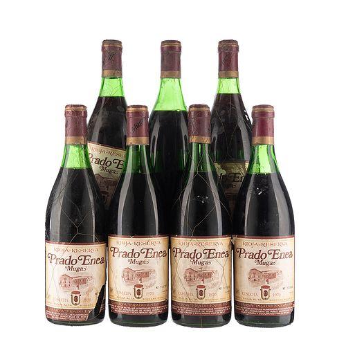 Prado Enea. Cosecha 1970. Muga. Rioja. España. Piezas: 7. En presentaciones de 750 ml.