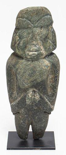 Mezcala Pre-Columbian Carved Stone Figure
