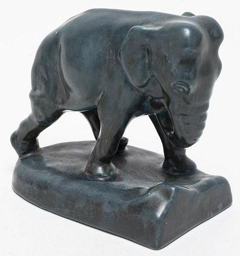 Rookwood Pottery Art Deco Elephant Figure