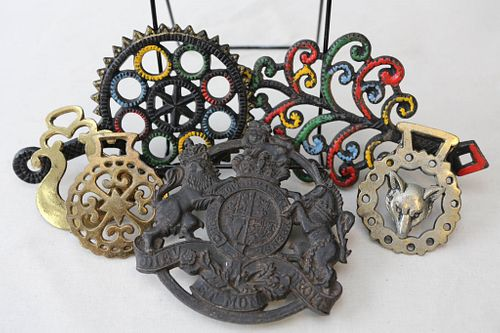 Trivets and Brass