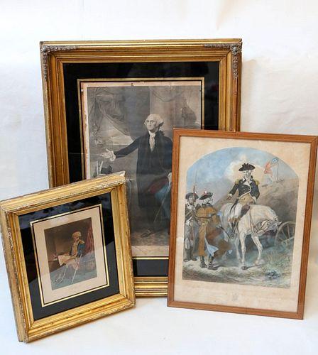 Three Historic Engravings