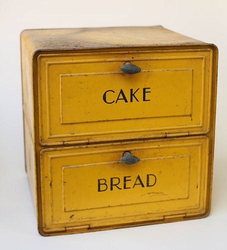 Antique Bread and Cake Tin