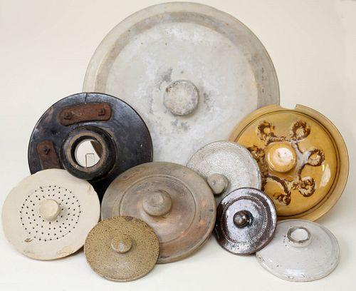 Stoneware Lids