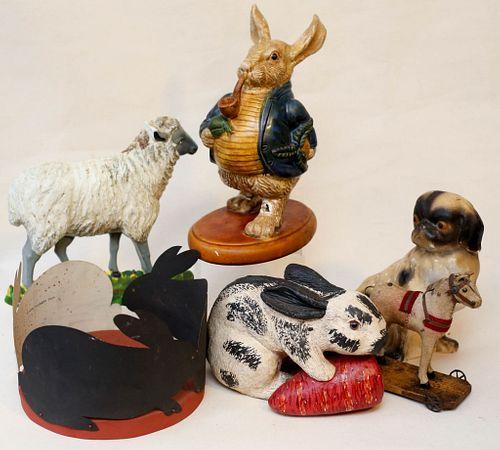 Folk Art Animal Figures