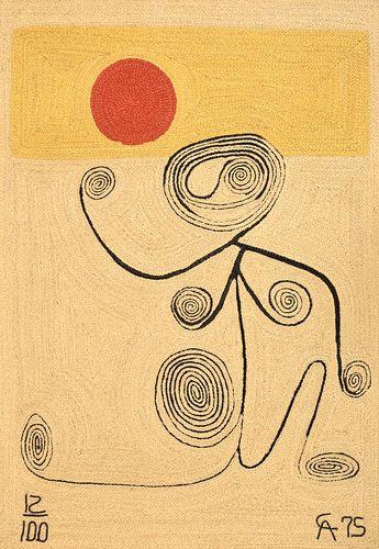 Large Alexander Calder (after) Tapestry