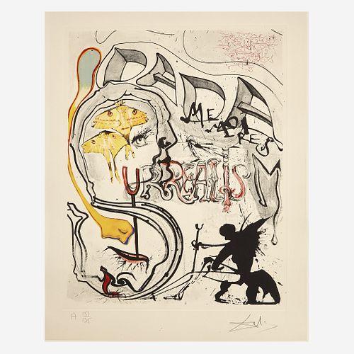 Salvador Dalí (Spanish, 1904-1989) Memories of Surrealism - The Complete Set of Twelve
