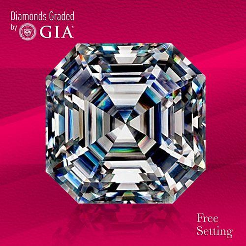 7.06 ct, G/VS1, Sq. Emerald cut GIA Graded Diamond. Unmounted. Appraised Value: $530,000